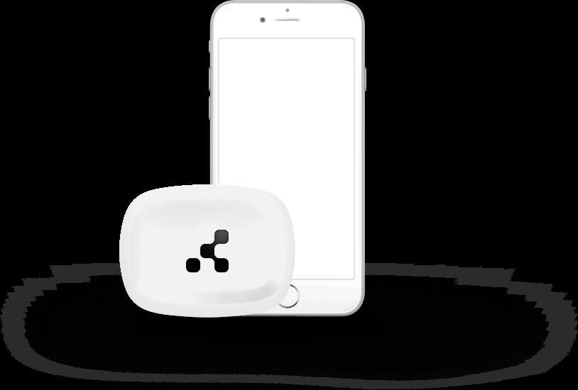 tough beacon with phone