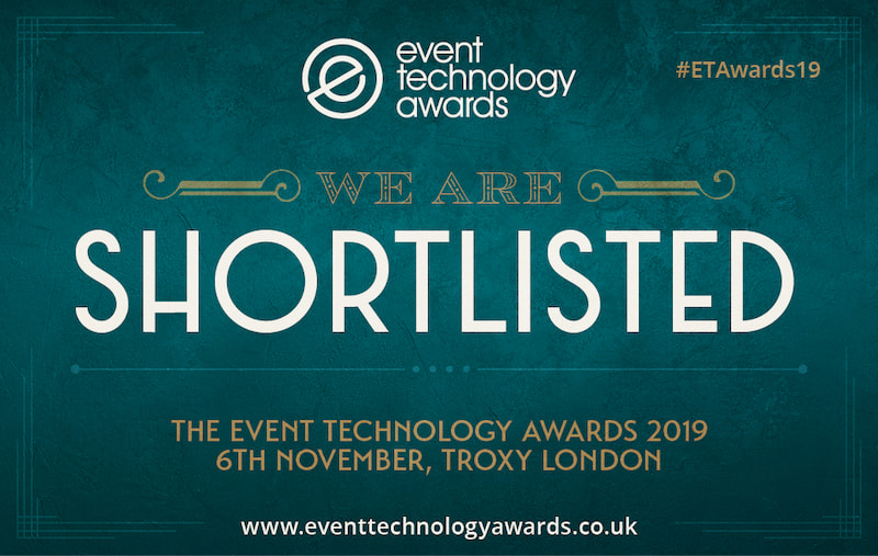 VenuIQ shortlisted in three categories in the Event Technology Awards 2019