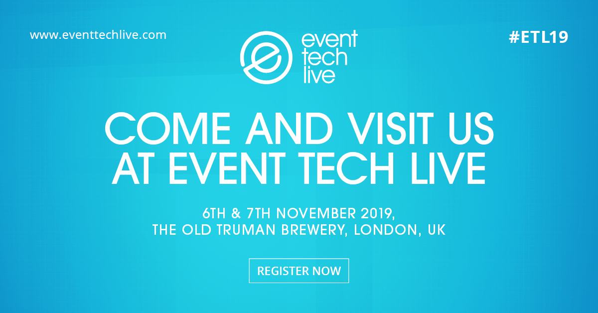 Come and visit VenuIQ at Event Tech Live 2019 at Truman Brewery, London, November 6 and 7.