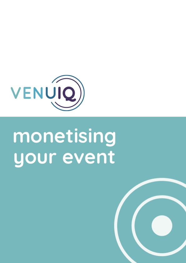 Monetising your Event Cover image