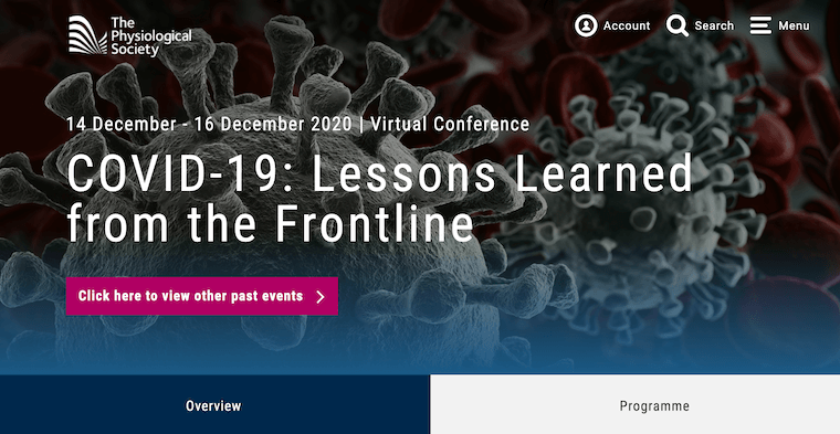 Covid-19 Lessons Learned from the Frontline screen